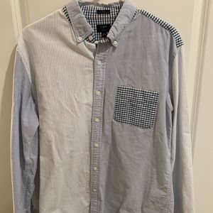 J-Crew Men's Slim Fit Multi-Colored Button Up!